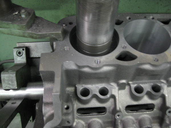 cylinder block boring operation
