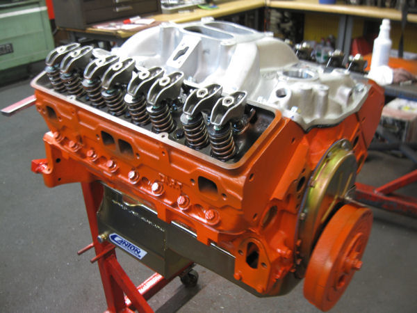 400 SBC fairly stock Engine